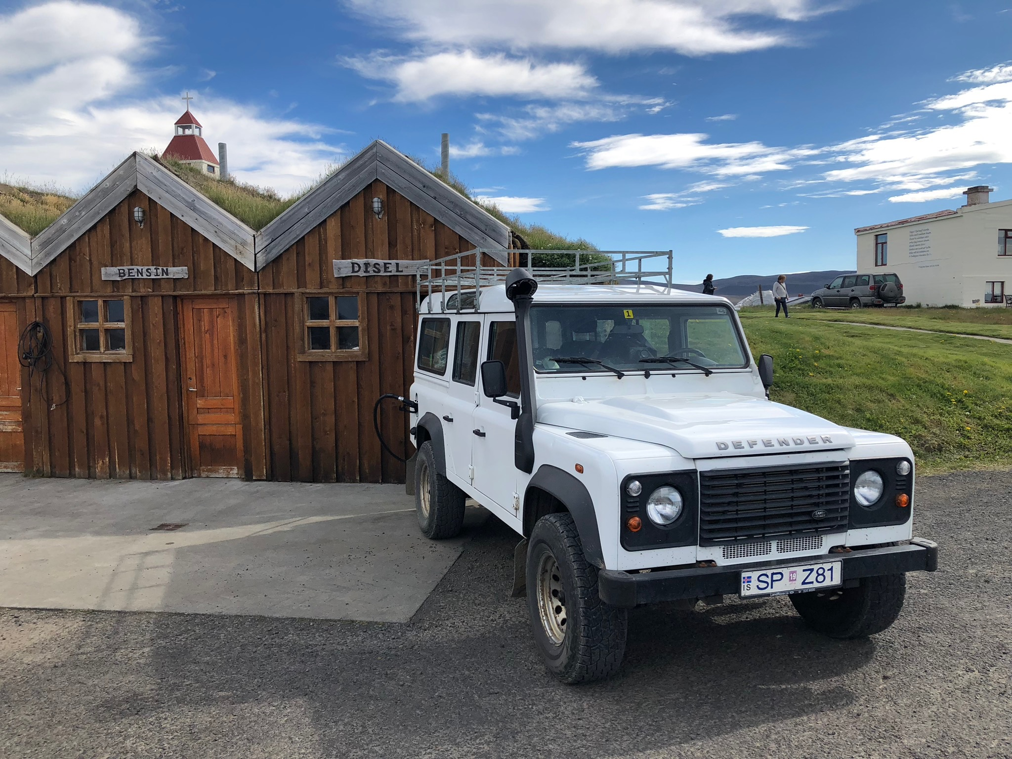 SaltyLove | Autofahren in Island | Tankstelle Askja