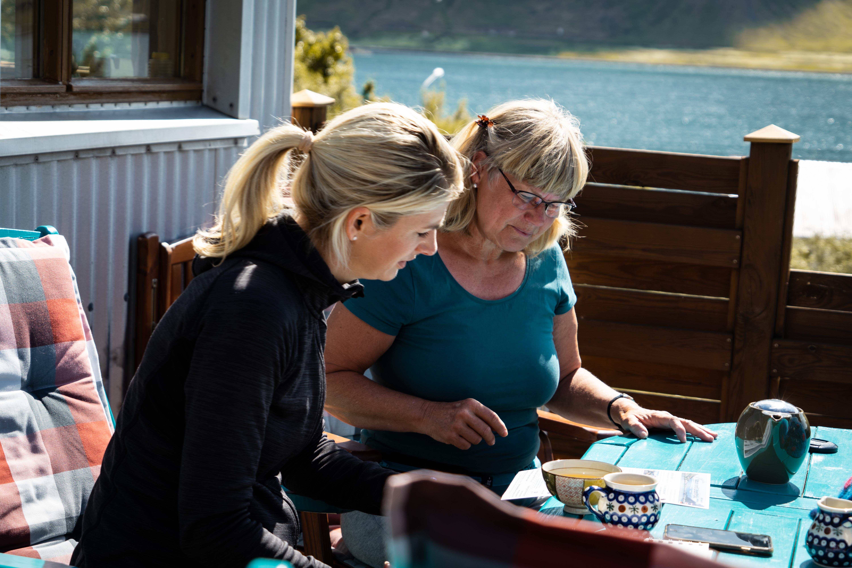 Salty Love   Fjordblick in Isafjödur