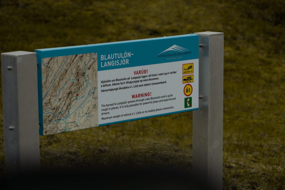 Blautulón - Langisjor
