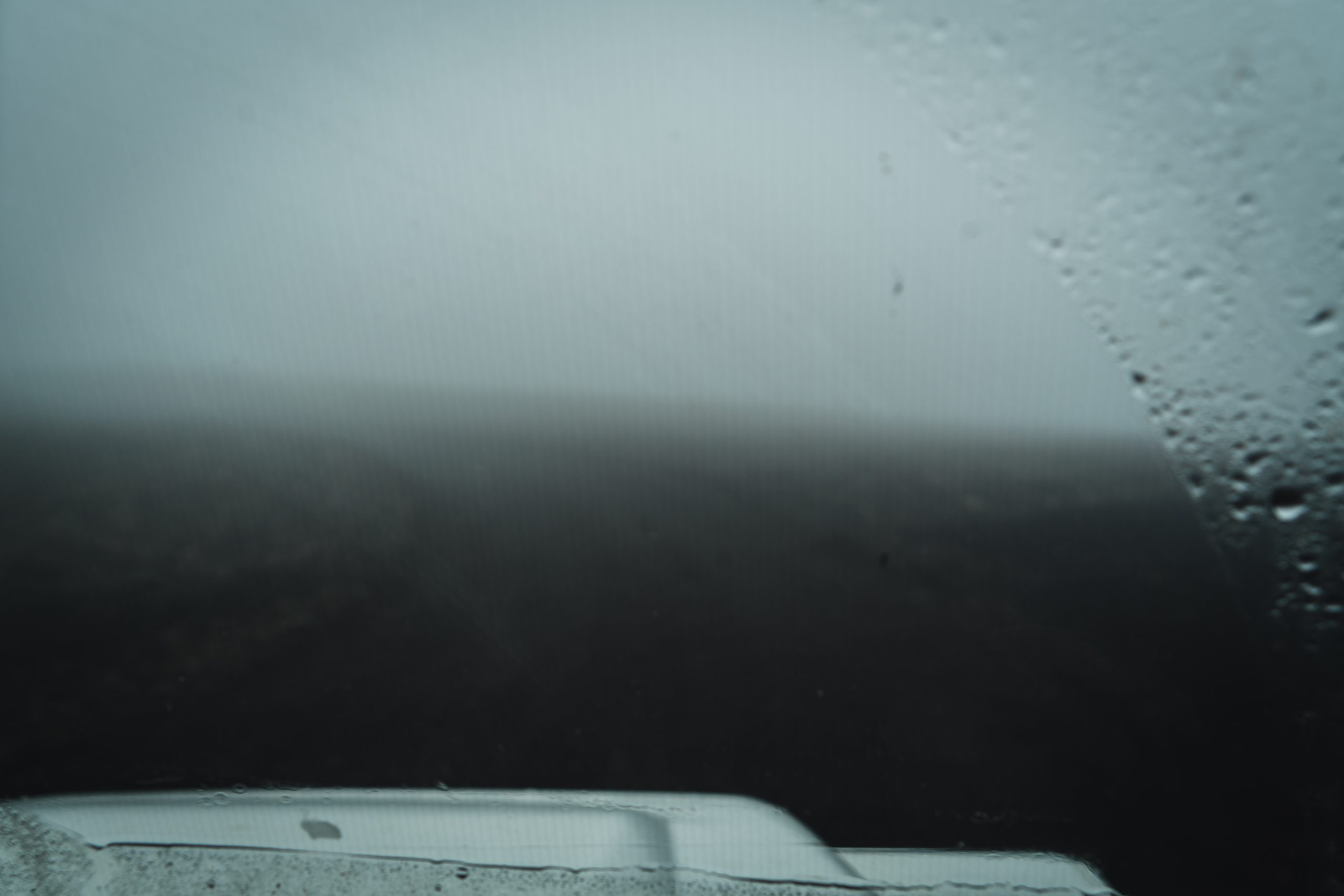 Island Hochland im Nebel